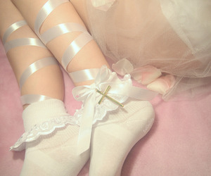 pale, pink, and aesthetic image