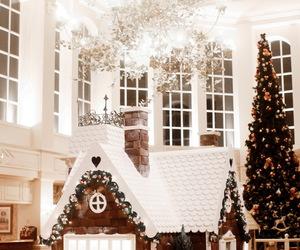 christmas, cozy, and disneyland image