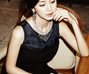 beauty, girl, and kim tae hee image