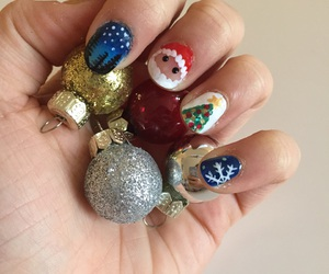 bauble, baubles, and christmas image