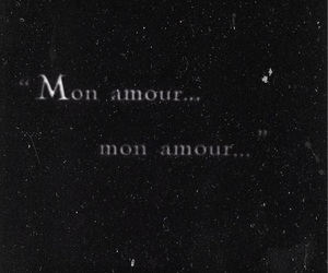 french, quotes, and mon amour image