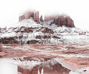 america, snow, and arizona image