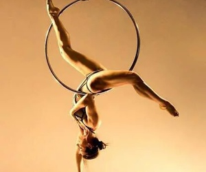 aerial hoop, circus, and dance image
