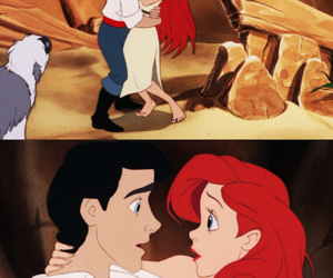 ariel, disney, and ariel and prince eric image