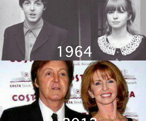 Paul McCartney and jane asher image