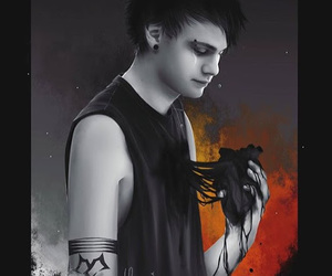 michael clifford, 5sos, and jet black heart image