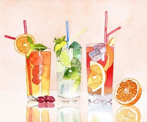 juice, art, and drink image