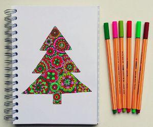 art, christmas, and creative image