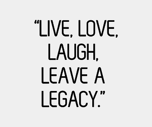 quote, laugh, and live image