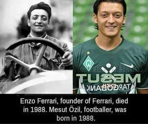 funny, ferrari, and Özil image
