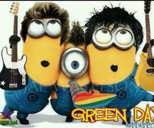 minions and green day image
