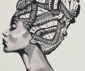 Afro, art, and draw image