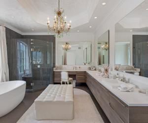 bathroom, home, and house image