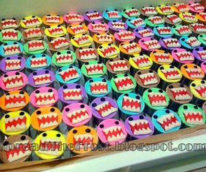 cupcakes, domo, and kun image