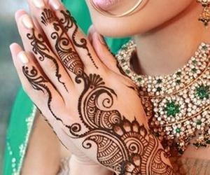 henna, fashion, and henna art image
