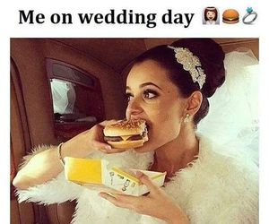 wedding, dress, and food image