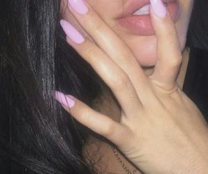 nails, lips, and pink image