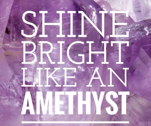 amethyst, easel, and quote image