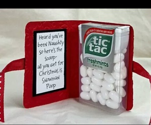 christmas, tic tac, and diy image