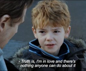 love, boy, and love actually image