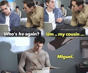 teen wolf, derek hale, and miguel image