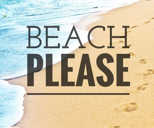 beach and please image