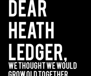 heath ledger and letters to dead people image