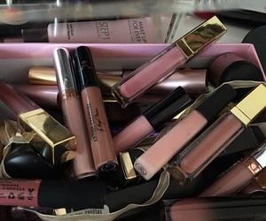 makeup, lipstick, and lipgloss image