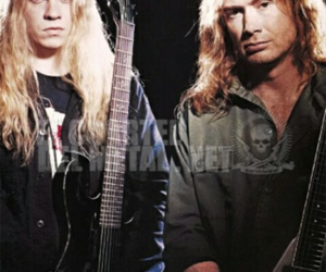 dave mustaine, megadeth, and jeff loomis image