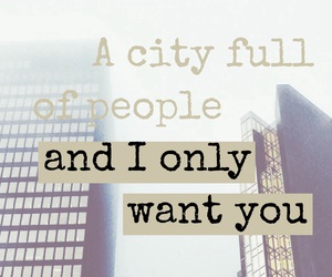 easel, city, and quote image