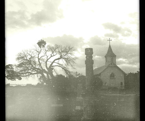 cemetery, gravestone, and iphoneography image