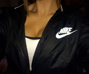 nike, black, and tumblr image