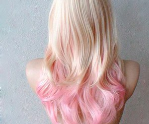 bright, hair, and pink image