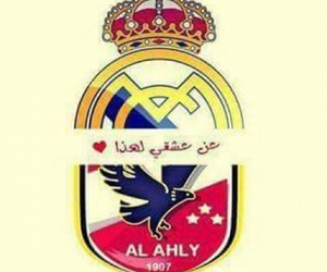 real madrid, love, and al ahly image