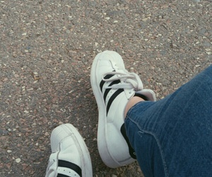 shoes, tumblr, and adidas image