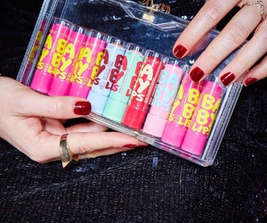 makeup, Maybelline, and baby lips image