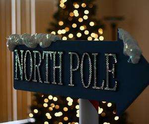 christmas, north pole, and winter image