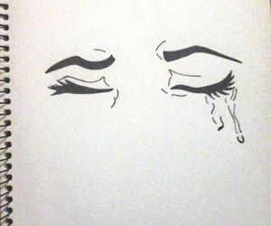 cry, dibujo, and draw image