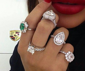 diamond, fashion, and ring image