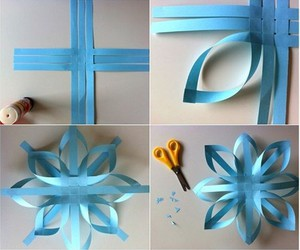 diy, blue, and flowers image