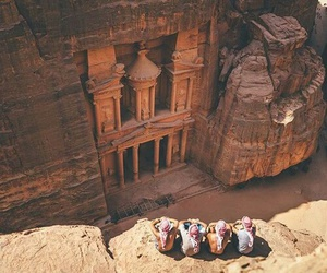 arab, jordan, and petra image