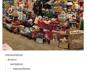 funny, harry potter, and christmas image