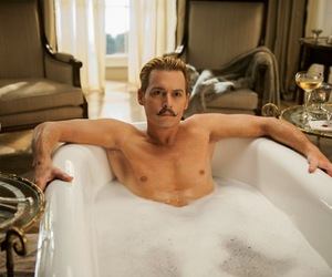 johnny depp, movie, and mortdecai image