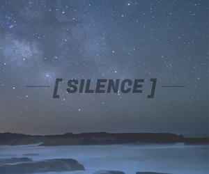 silence and stars image