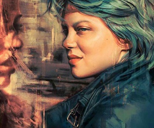 Adele and blue is the warmest color image
