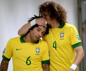 david luiz, marcelo, and brazil image
