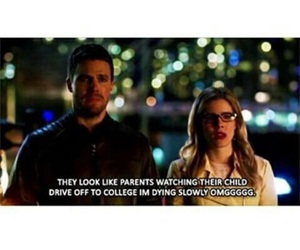 oliver queen, felicity smoak, and olicity image