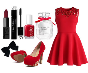christmas, dress, and outfit image