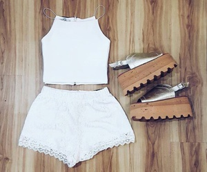 outfit and white image