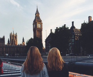 girls and london image